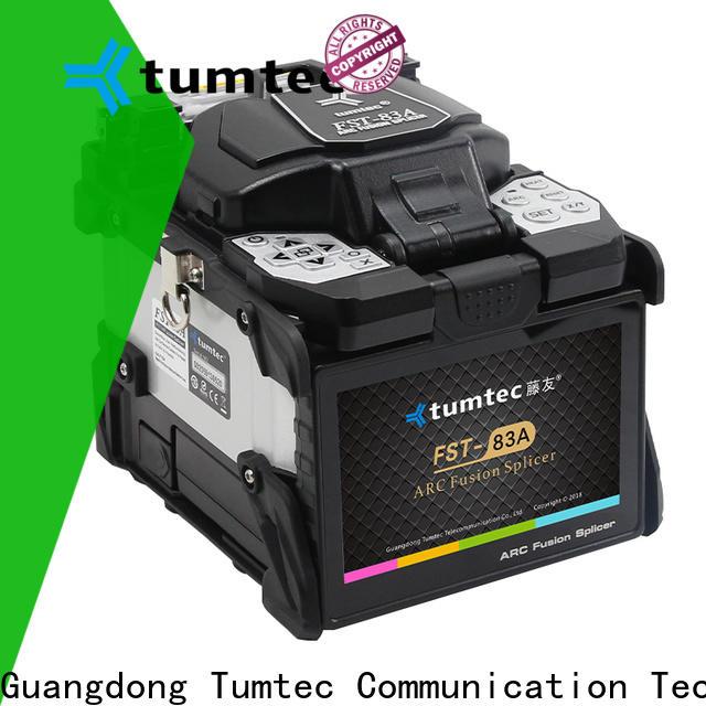 Tumtec fst18s fiber splicing machine price in pakistan reputable manufacturer directly sale for fiber optic solution bulk production