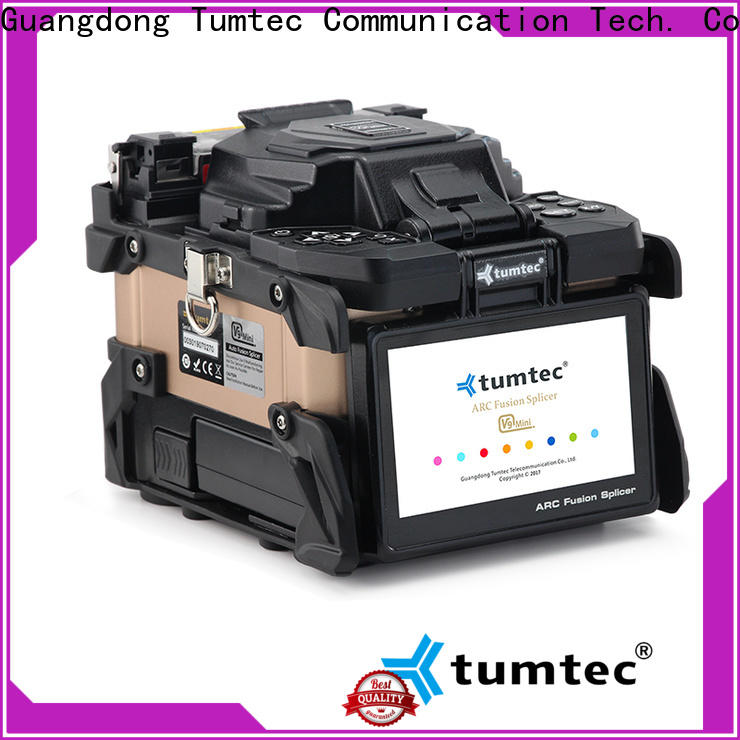 Tumtec v9 mini fibre optic floating machine factory directly sale for outdoor environment