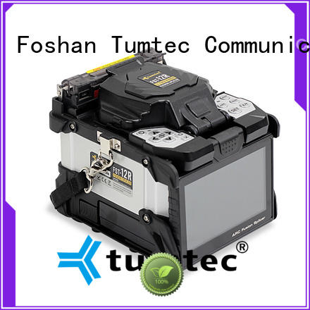 Tumtec high quality splicing machine price in kolkata for business for fiber optic solution bulk production