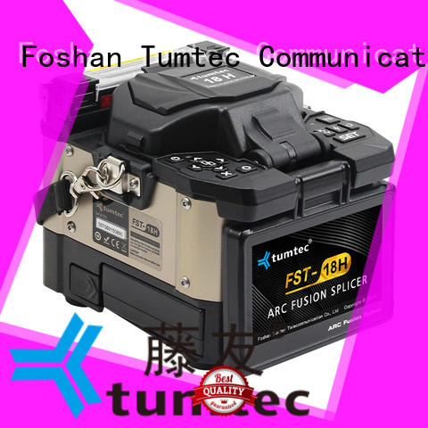 Tumtec fst18s fusion splicing machine reputable manufacturer for telecommunications
