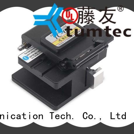 durable splicing machine cleaver customized for fiber optic solution Tumtec