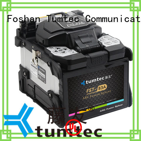 Tumtec v9 mini Fiber Optic Splicing Machine from China for outdoor environment