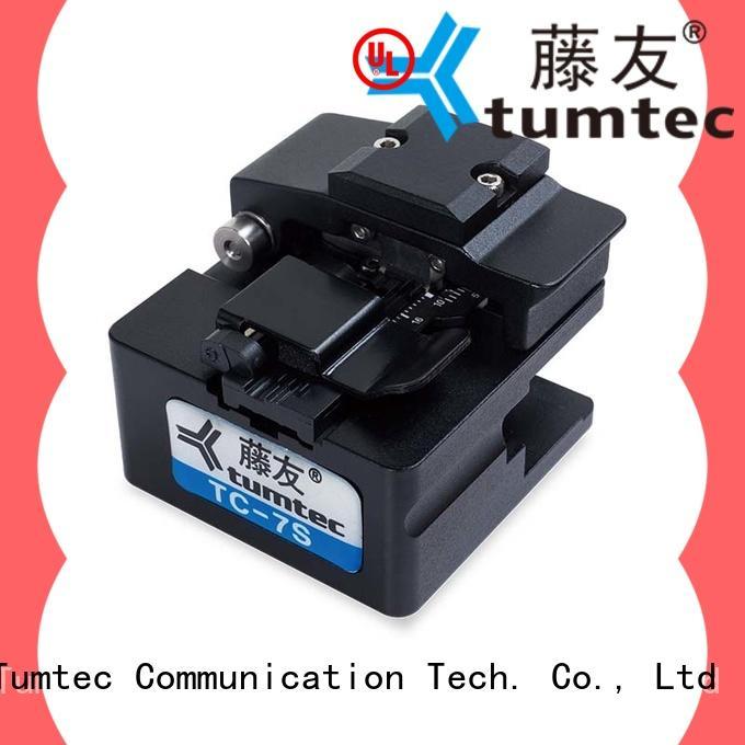 Tumtec precision optical fiber cleaver inquire now for fiber optic field
