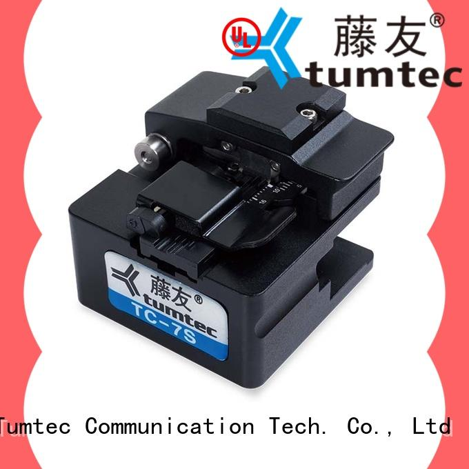 Tumtec durable fiber cleaver inquire now for telecommunications