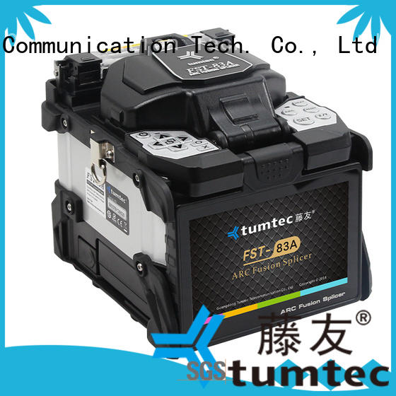 Tumtec stable fusion splicing machine factory directly sale for fiber optic solution