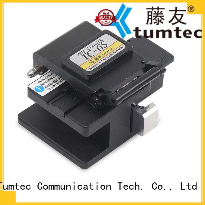 Tumtec tcf8 optical fiber cleaver customized for telecommunications