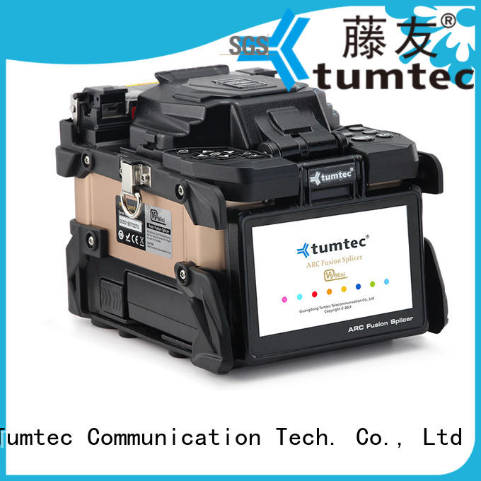 Tumtec effective optical fiber splicing machine from China for fiber optic solution