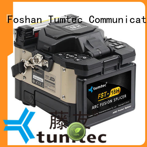 Tumtec effective FTTH splicing machine from China for outdoor environment