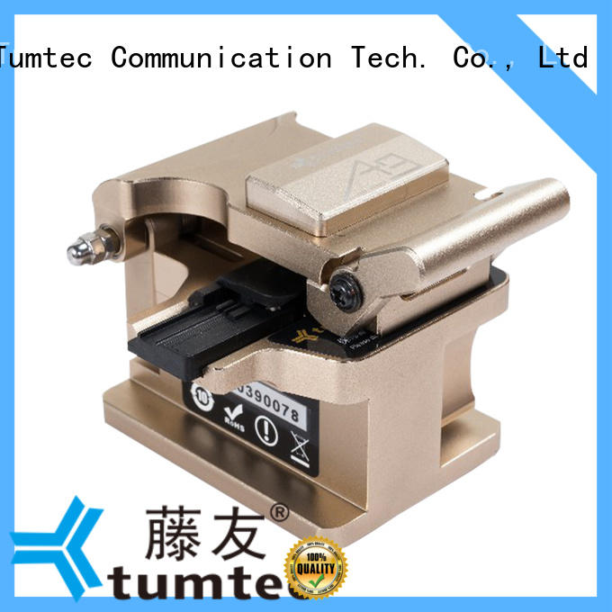 Tumtec professional fiber cutter price Supply for telecommunications
