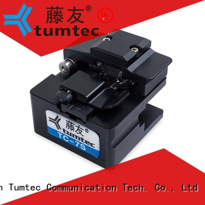 Tumtec fiber fiber cleaver customized for fiber optic solution