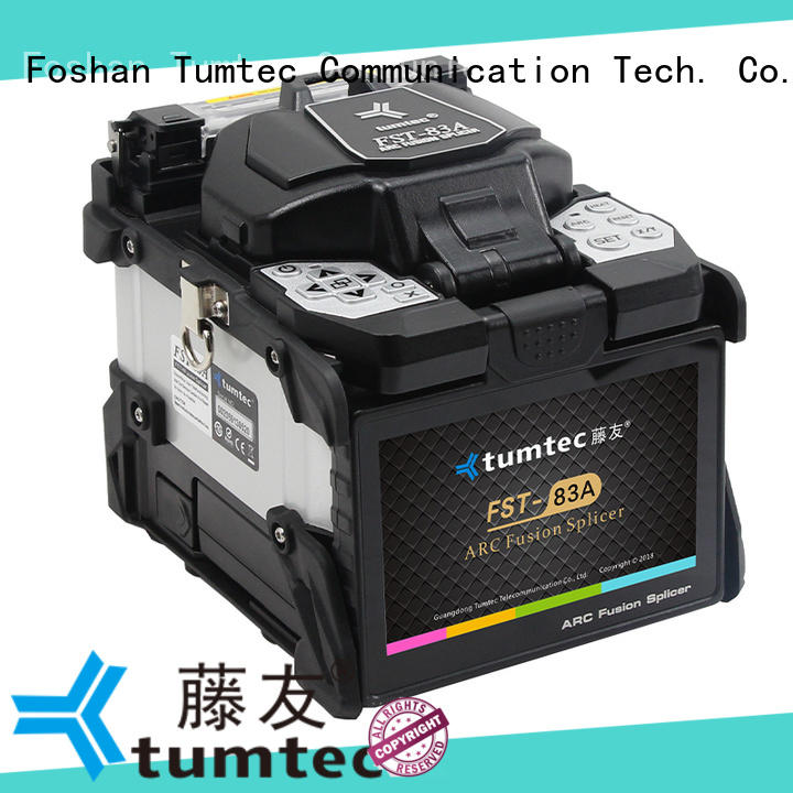 effective optical fiber splicing machine tumtec from China for fiber optic solution