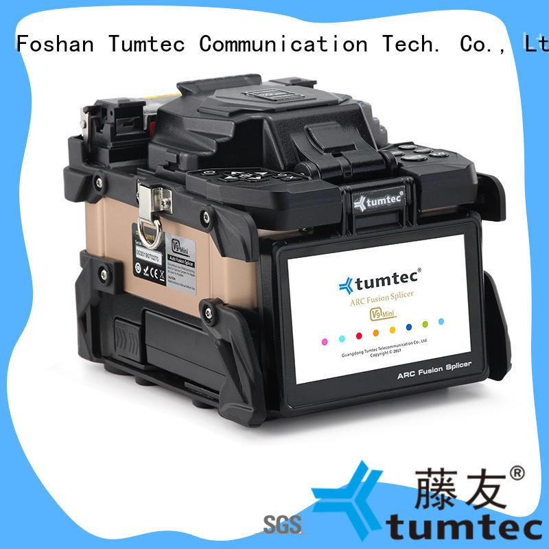 six motor optical fiber splicing machine reputable manufacturer for telecommunications Tumtec