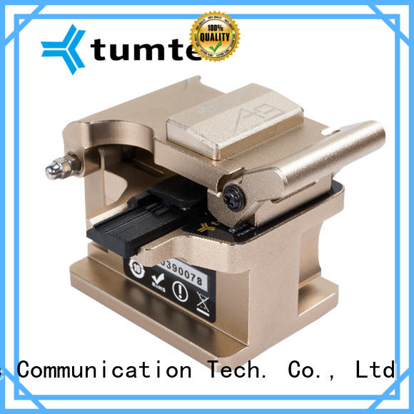 Tumtec durable high precision fiber cleaver for business for fiber optic field