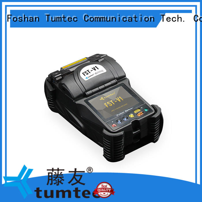 Tumtec optical fiber fusion splicing machine from China for telecommunications