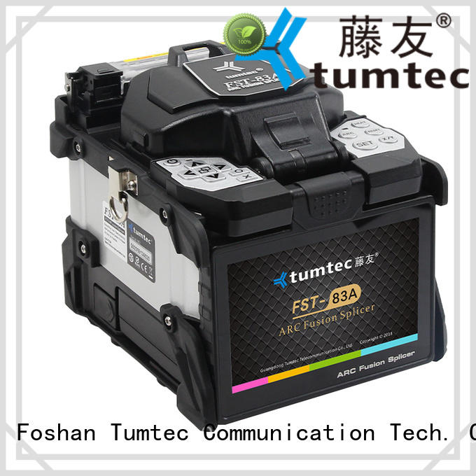 Tumtec effective fusion splicing machine factory directly sale for fiber optic solution