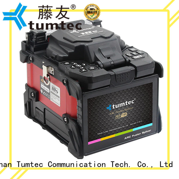 Tumtec effective fusion splicing machine factory directly sale for outdoor environment