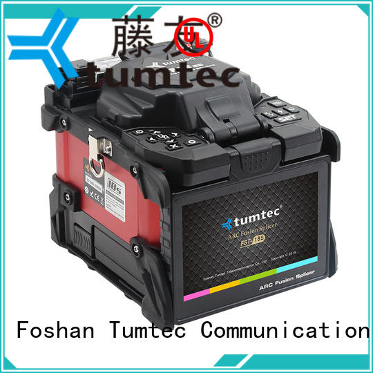 Tumtec 83a optical fiber splicing machine factory directly sale for fiber optic solution