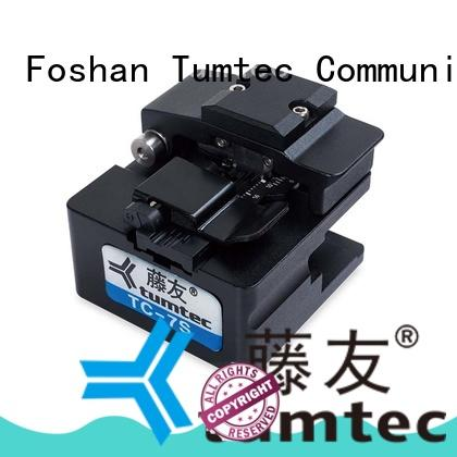 Tumtec durable fiber optic cleaver with good price for telecommunications