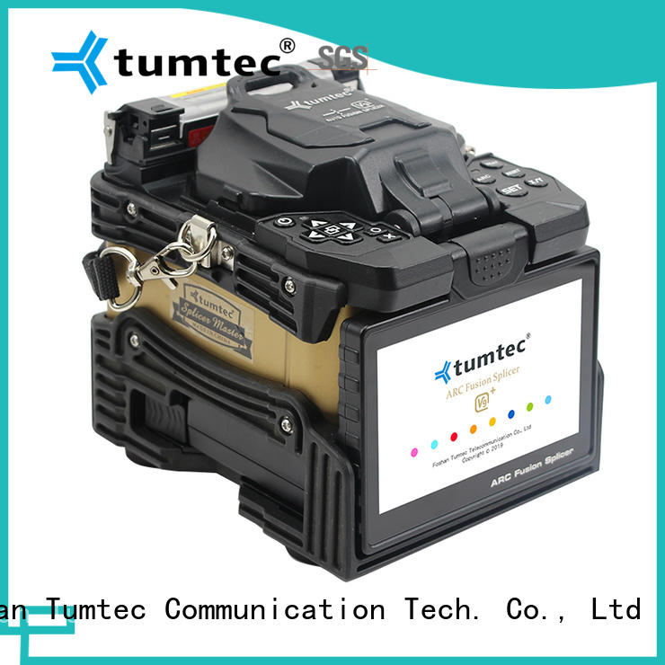 Tumtec optical fiber fiber optics splicing machine price india with good price for sale