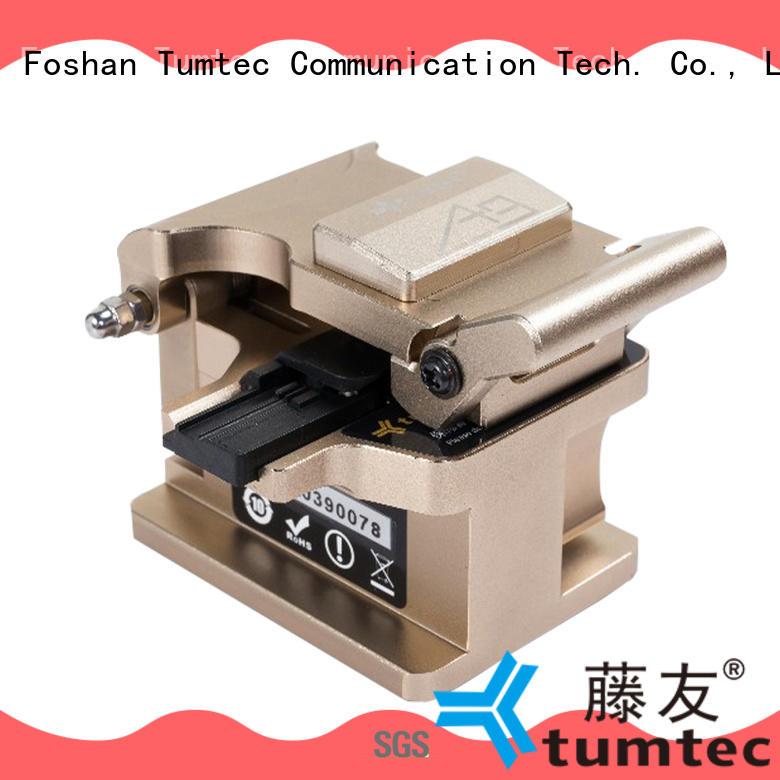 Tumtec a9 fiber optic cleaver inquire now for fiber optic field