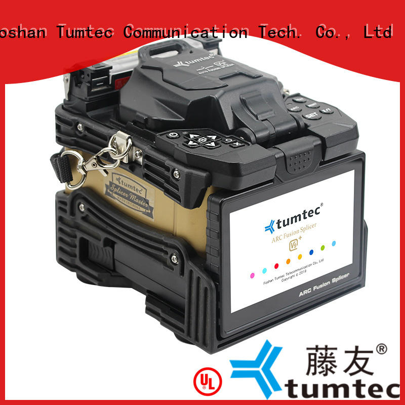 Tumtec long distance optical fiber splicing machine reputable manufacturer for telecommunications