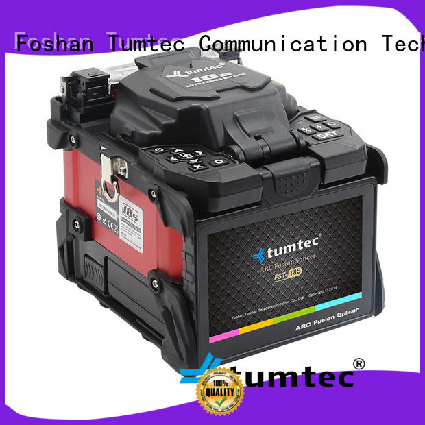 stable fiber cable splicing machine tumtec factory direct supply for telecommunications