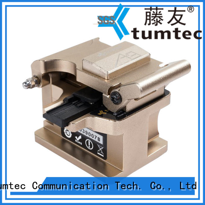unreserved service high precision fiber cleaver tumtec for fiber optic field