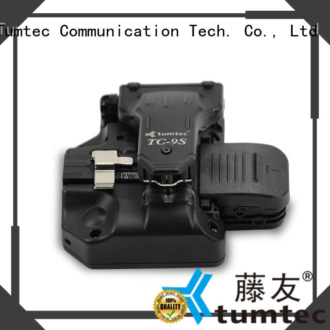 Tumtec t9 optical fiber cleaver customized for fiber optic solution
