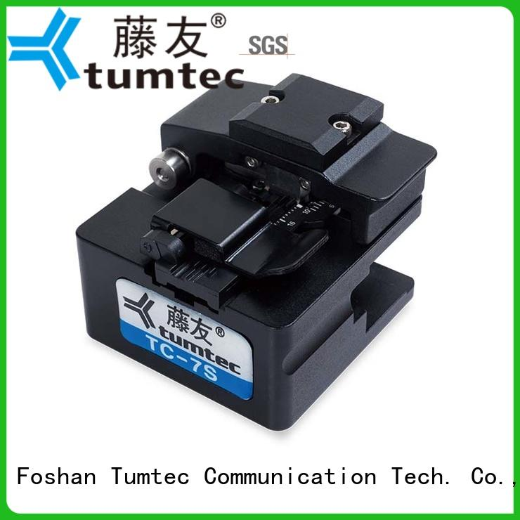 Tumtec optical fiber optic cleaver customized for fiber optic solution