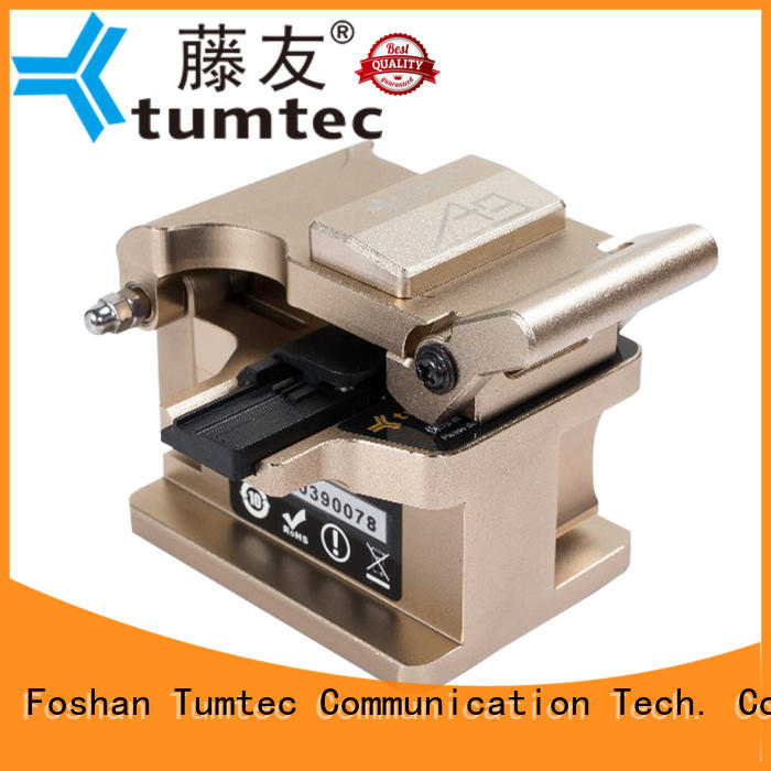 professional fiber cleaver tcf8 customized for telecommunications