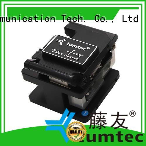 Tumtec professional precision cleaver fiber for fiber optic field