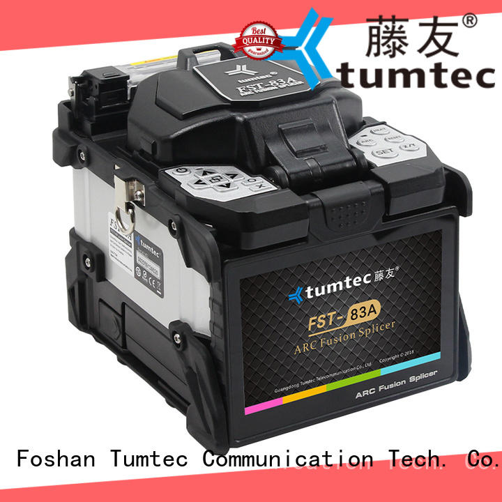 83a fusion splicing machine optical fiber for fiber optic solution Tumtec