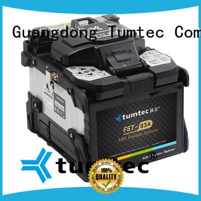 Tumtec six motor fiber optic splicing work wholesale for telecommunications