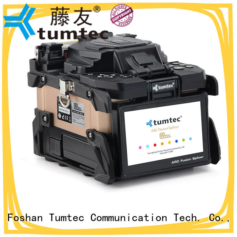 Tumtec stable optical fiber splicing machine factory directly sale for telecommunications