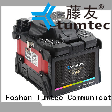 optical fiber backbone project splicing machine from China for telecommunications Tumtec