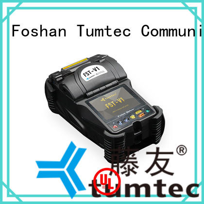 Tumtec v9 mini fiber splicing machine from China for fiber optic solution