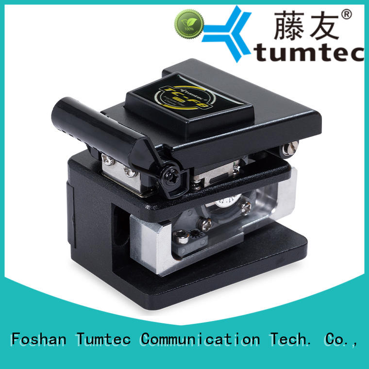 Tumtec professional fiber cleaver with good price for telecommunications