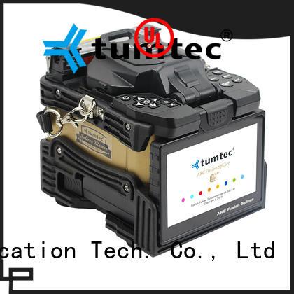 Tumtec v9 fiber splicing equipment supplier for outdoor environment