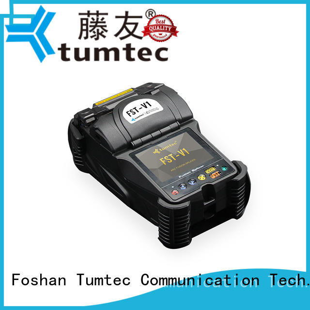 Tumtec fst18s optical fiber splicing machine from China for outdoor environment