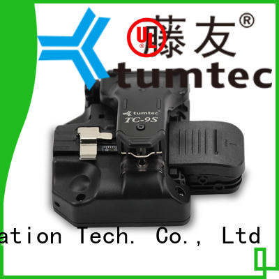 Tumtec high efficiency fiber optic cleaver inquire now for fiber optic solution