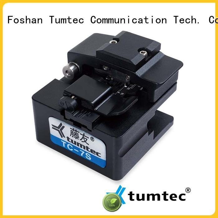 Tumtec a9 high precision cleaver factory for telecommunications