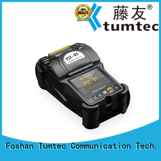 Tumtec tumtec optical fiber splicing machine reputable manufacturer for fiber optic solution