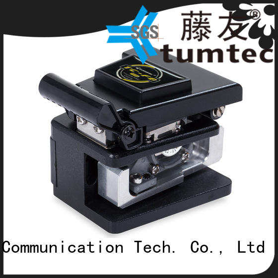 durable optical fiber cleaver tc7s with good price for fiber optic solution