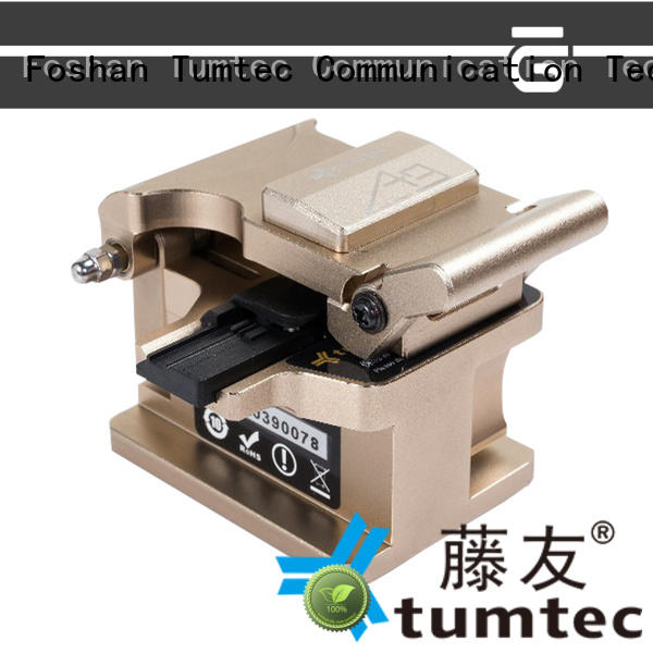 Tumtec durable optical fiber cleaver customized for fiber optic solution
