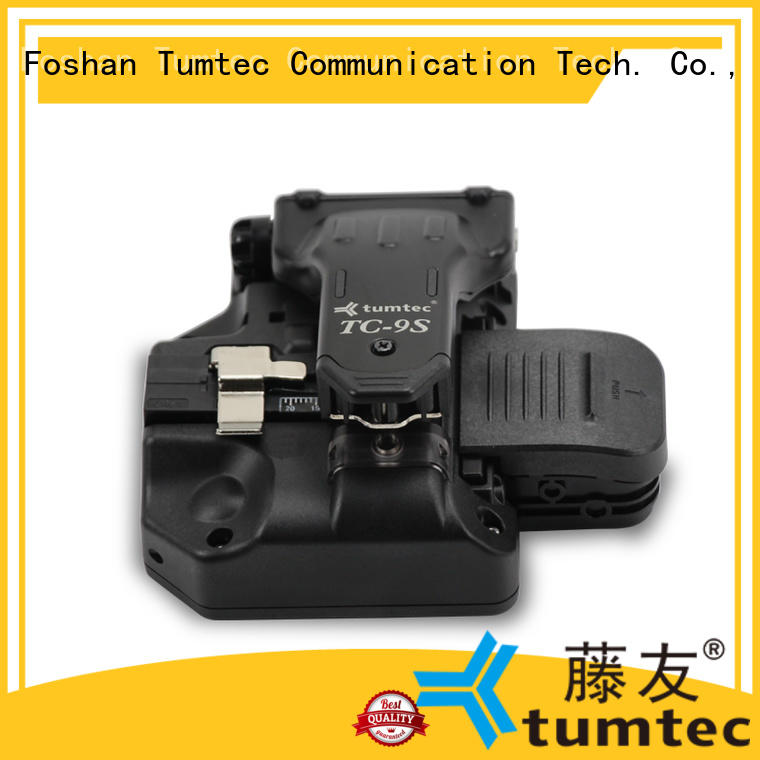 Tumtec lightweight fiber cleaver inquire now for telecommunications