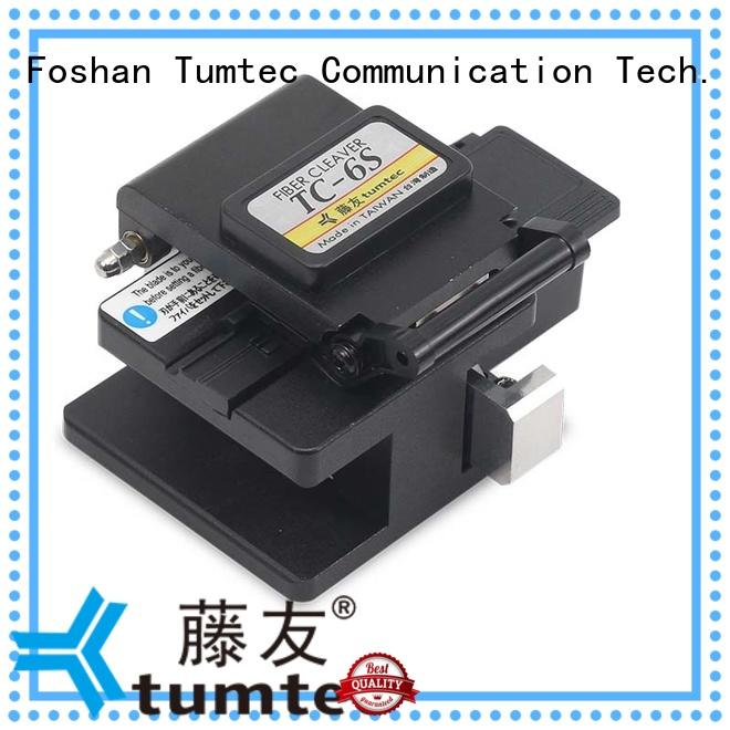 optical fiber cleaver tcf8 for fiber optic solution Tumtec