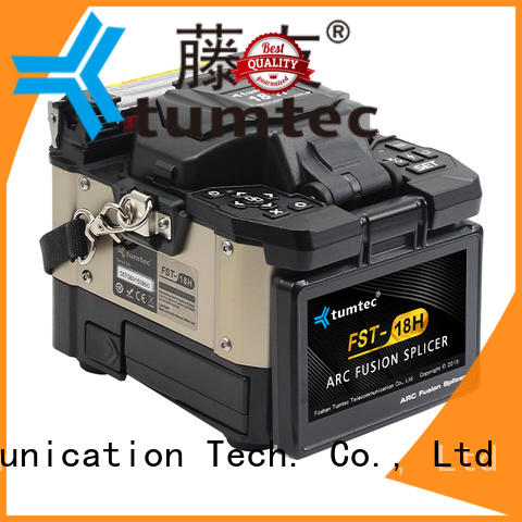 Tumtec tumtec optical fiber splicing machine from China for fiber optic solution
