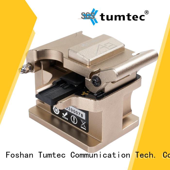 Tumtec fiber high precision cleaver design for fiber optic field
