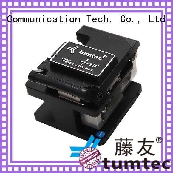 Tumtec precision fiber optic cleaver inquire now for telecommunications