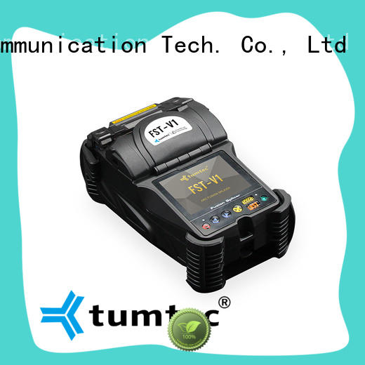 Tumtec six motor Optical Fiber Splicing Machine factory directly sale for outdoor environment